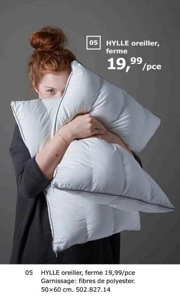 Produit Maison Ikea Hylle Oreiller Ferme En Promotion Chez Ikea
