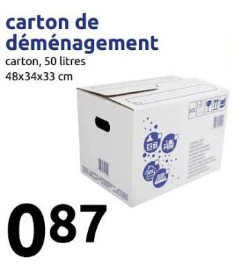 Produit Maison Action Carton De Demenagement En Promotion Chez Action
