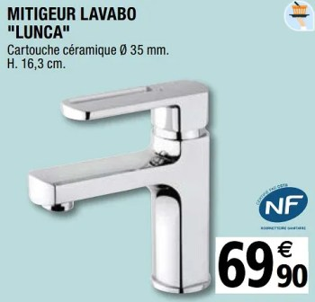 mitigeur lavabo lunca