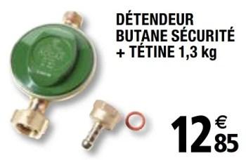 Produit Maison Brico Depot Detendeur Butane Securite Tetine En Promotion Chez Brico Depot
