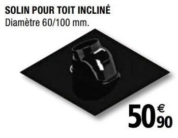 Radiant Solin Pour Toit Incline En Promotion Chez Brico Depot