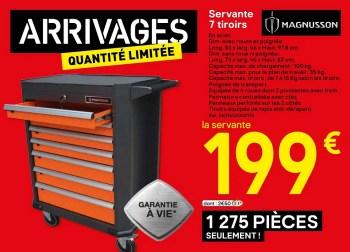 Magnusson Servante 7 Tiroirs En Promotion Chez Brico Depot