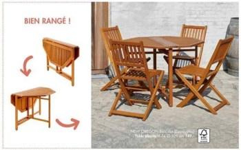 new oregon table pliante