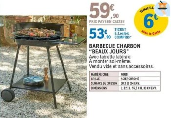 barbecue charbon beaux jours