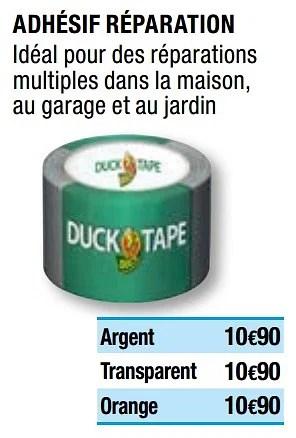 Promotion Brico Depot Adhesif Reparation Duck Tape Bricolage Valide Jusqua 4 Promobutler