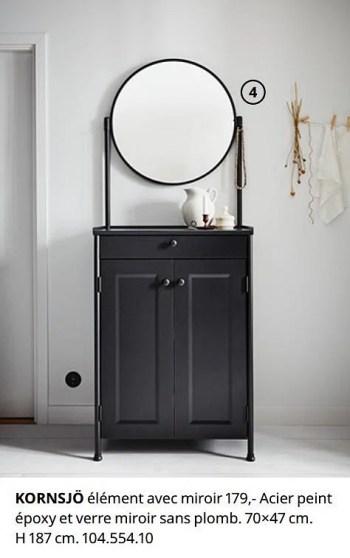 Promotion Ikea Kornsjo Element Avec Miroir Produit Maison Ikea Jouets Valide Jusqua 4 Promobutler