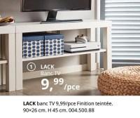 Produit Maison Ikea Lack Banc Tv En Promotion Chez Ikea