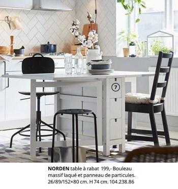 norden table a rabat