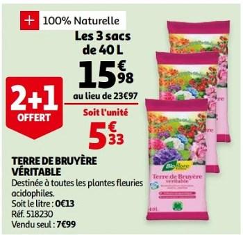 Promotion Auchan Ronq Terre De Bruyere Veritable Produit Maison Auchan Ronq Jardin Et Fleurs Valide Jusqua 4 Promobutler