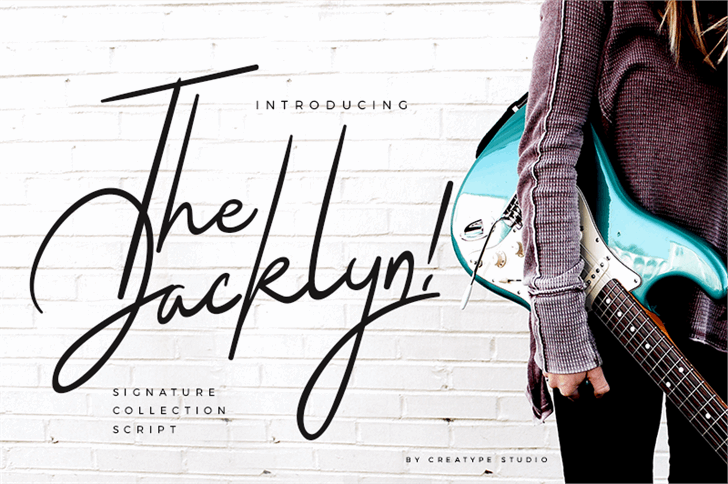 Image for The Jacklyn font