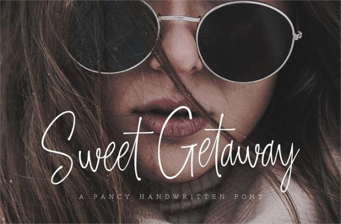 Image for Sweet Getaway DEMO font