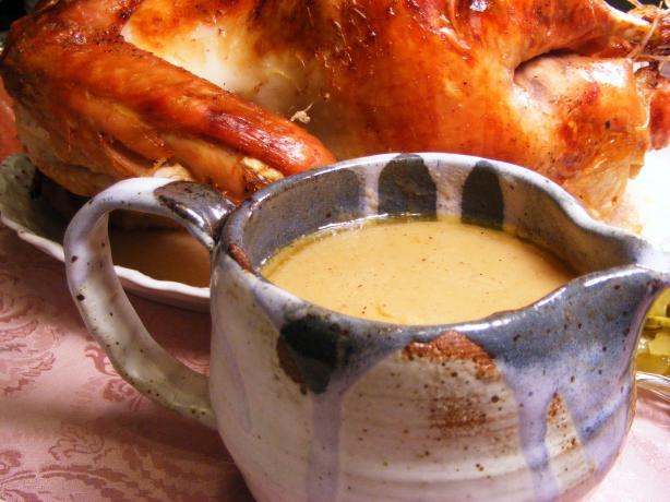 Kittencal's Easy No-Fail Make Anytime Turkey Gravy. Photo by Lavender Lynn