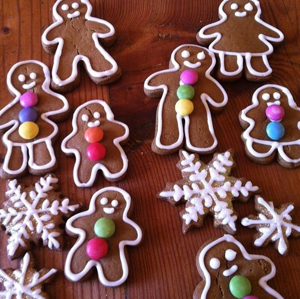 The Most Wonderful Gingerbread Cookies. Photo by louisapont