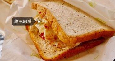 台南 成大早餐 緹克廚房 勝利路上有wifi還有冷氣的舒適早餐店!