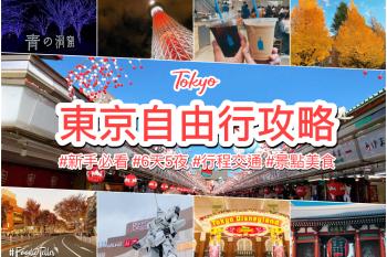 2021東京自由行攻略 新手第一次規劃必看 一篇搞定行程景點交通美食預算!