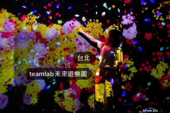 2021台灣Teamlab雙人套票門票未來遊樂園&與花共生的動物們超美視覺聲光超自然展覽!