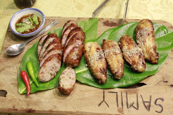 台南仁德區美食│莎麗泰式家庭餐廳 隱藏民宅的泰美味