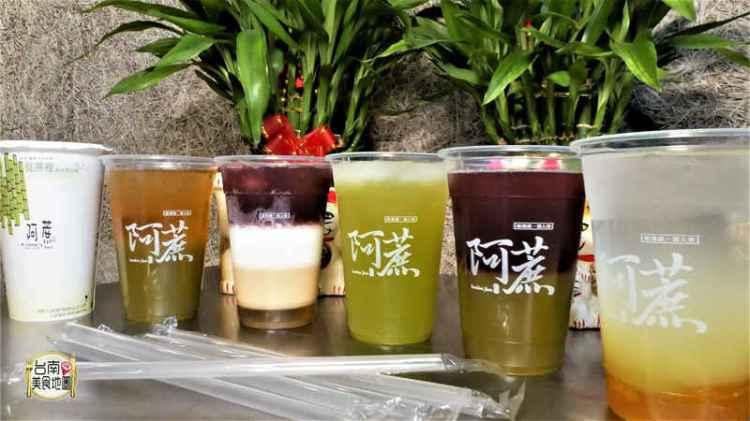 """【台南-中西區美食】自然的甜在""""蔗""""裡❤『阿蔗甘蔗冰茶赤崁店』用每天現榨的白玉甘蔗汁,來代替手搖飲品的甜度調和喔ノ≧ڡ≦"""