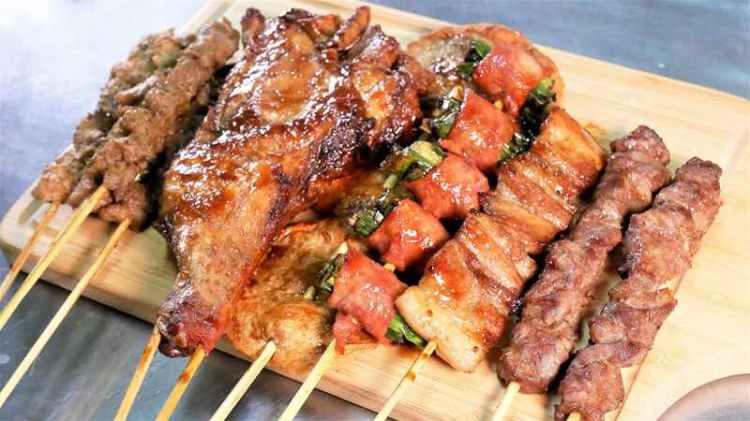 【台南-麻豆美食】上榮新疆孜然烤肉便宜又好吃,宵夜聚餐下酒菜好選擇