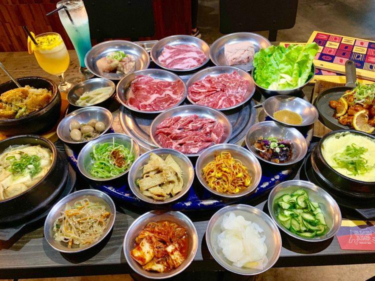 【台南-中西區美食】潮流韓式烤肉料理,工業夜店氣氛,年輕人熱愛的聚餐地