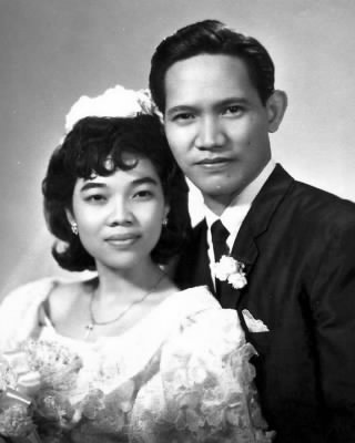 Luis San Diego and Erlinda Cordero were united in matrimony on 14 May 1967 in Manila City, Philippines.