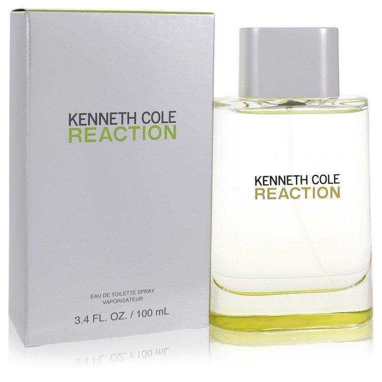Kenneth Cole Reaction by Kenneth Cole Eau De Toilette Spray 3.4 oz for Men
