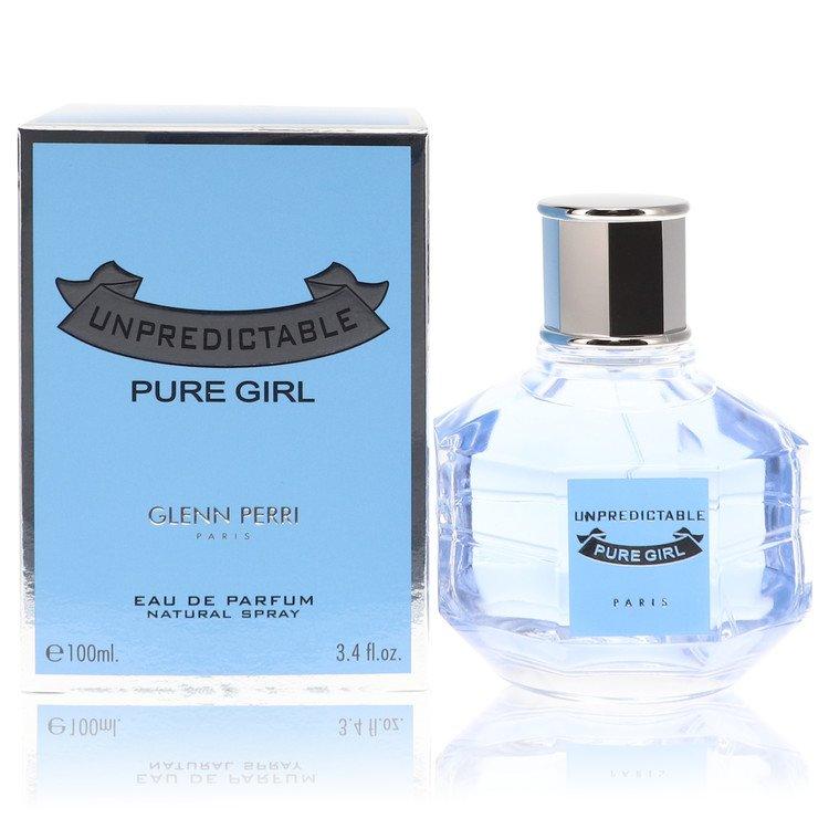 Unpredictable Pure Girl by Glenn Perri Eau De Parfum Spray 3.4 oz for Women