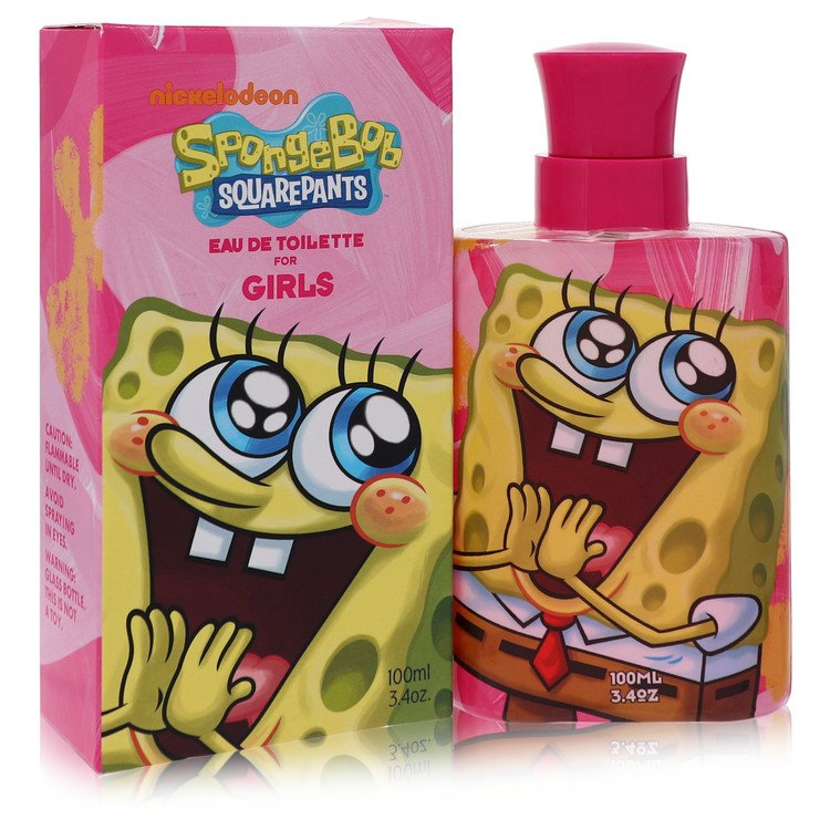 Spongebob Squarepants by Nickelodeon Eau De Toilette Spray 3.4 oz for Women