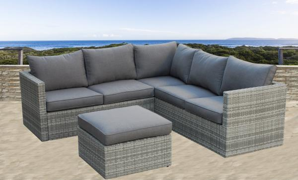 Resin Wicker Garden Sofa Images