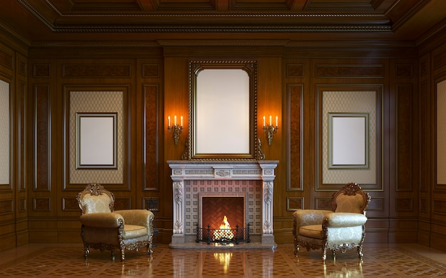 old and classic fireplace ideas