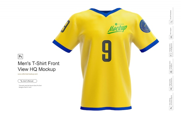 Download 16+ Mens Full Rugby Kit Hq Mockup Halfside View PNG ...