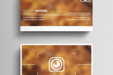 Photography Business Card Vectors  Photos and PSD files   Free Download Photography Business Card Template
