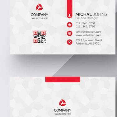 Grabs Full Pixels » Cards PSD   3 800 free PSD files White business card with red details