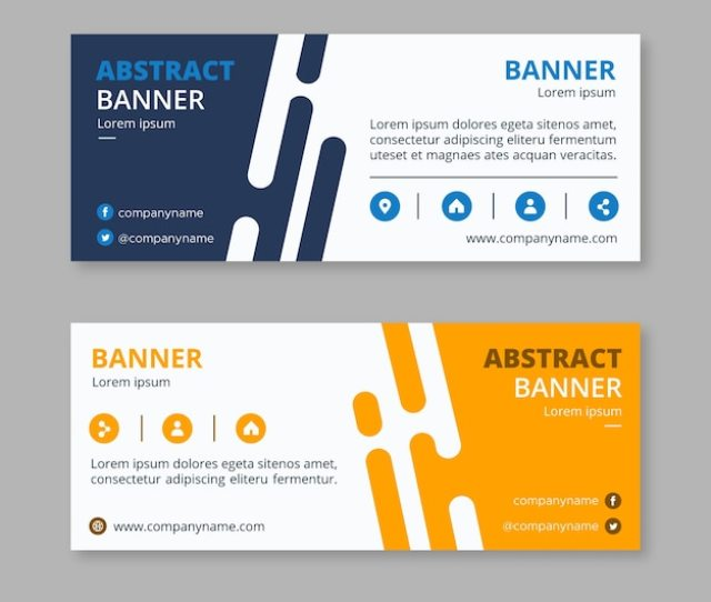 Abstract Business Banners