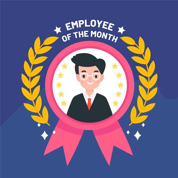 employee month images free vectors