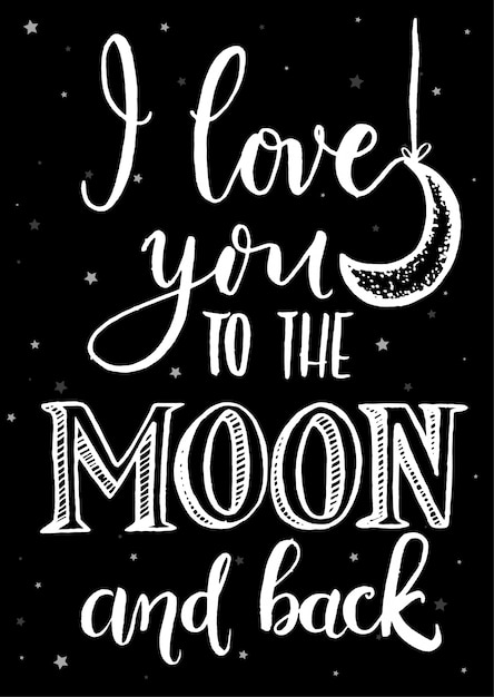 Download Love You To The Moon And Back Wallpaper - Download PPT ...