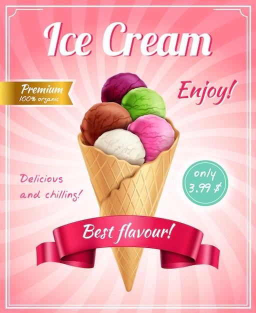 ice cream images free vectors stock