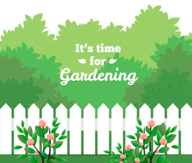 Its Time For Gardening