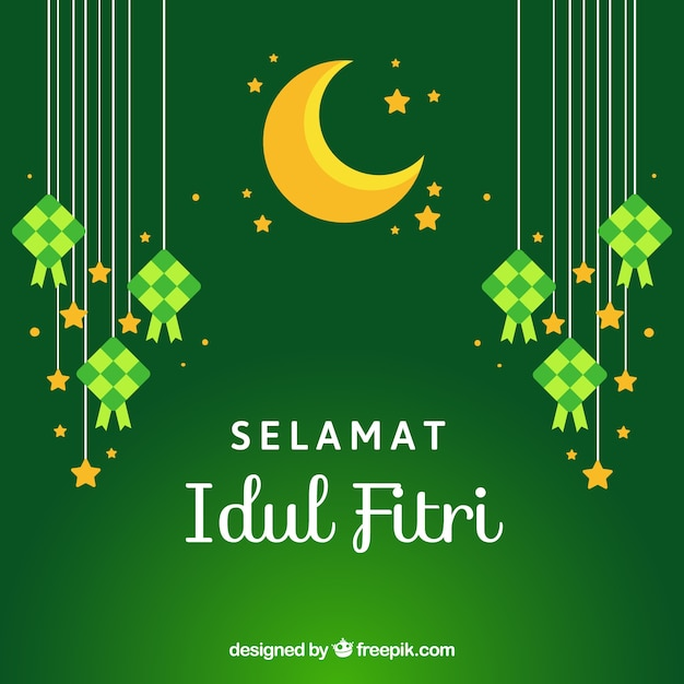 Contoh Unik Background Idul Fitri Hd 2019