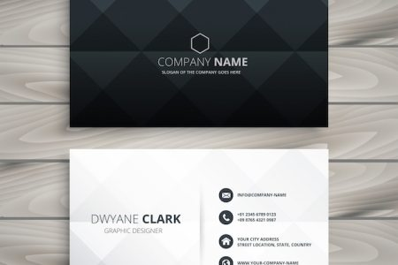 Business Card Vectors  Photos and PSD files   Free Download Modern black and white business card design