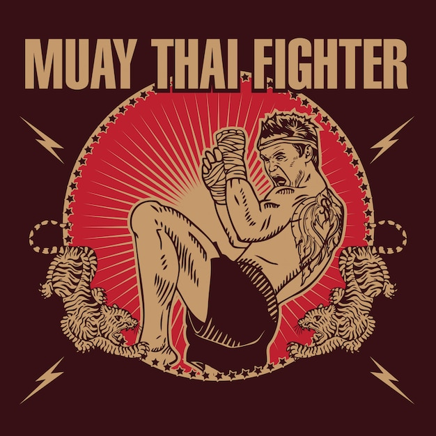 free muay thai vectors 100 images in