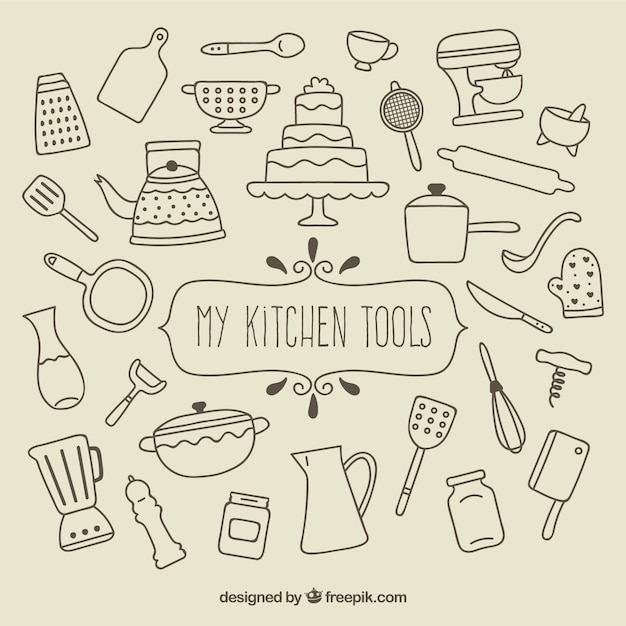Kitchen Tools 373 Years Ago