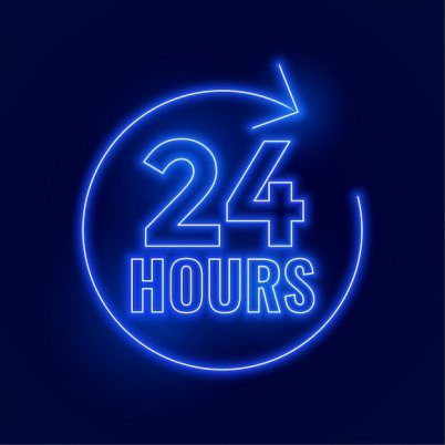 Free 24 Hours Vectors, 900+ Images in AI, EPS format