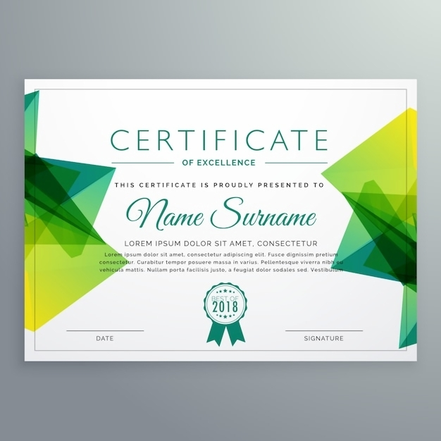 images for modern certificate template png