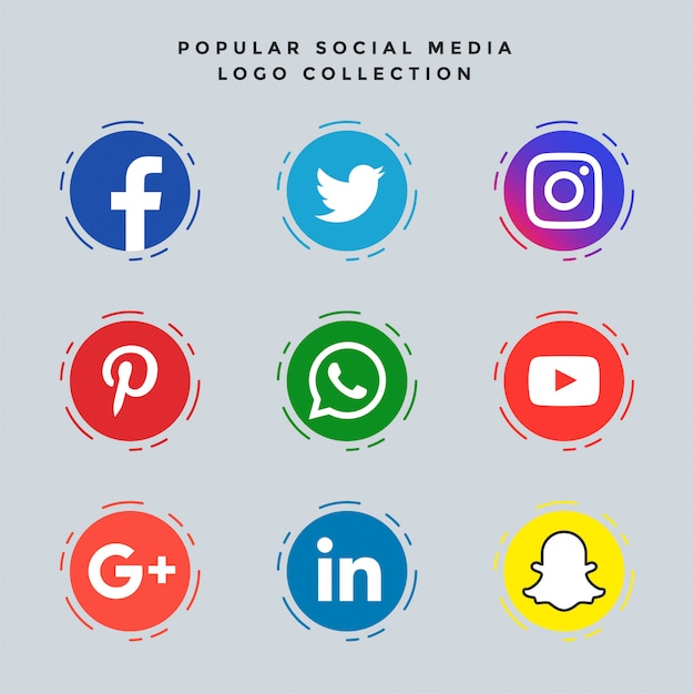 Social Media Buttons Vectors Photos And Psd Files Free