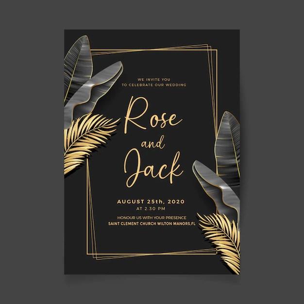 free royal wedding invitation vectors