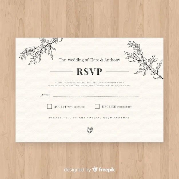 Wedding Invitation Psd Files Free Download 2