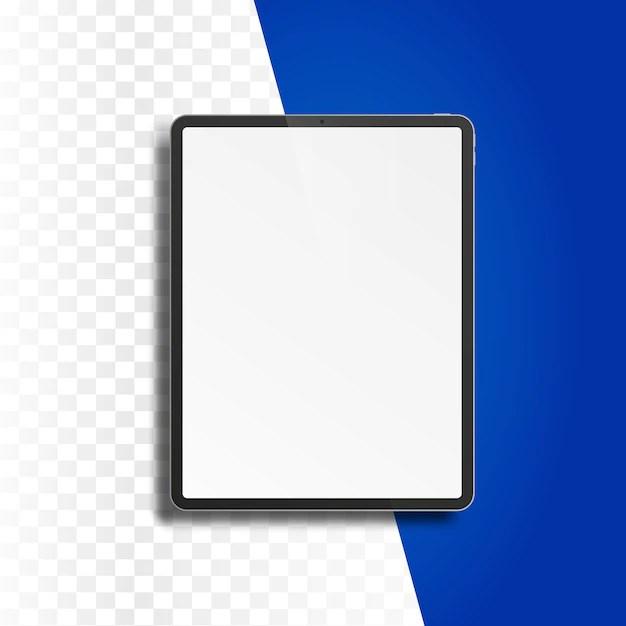 ordinateur tablette pc avec ecran blanc