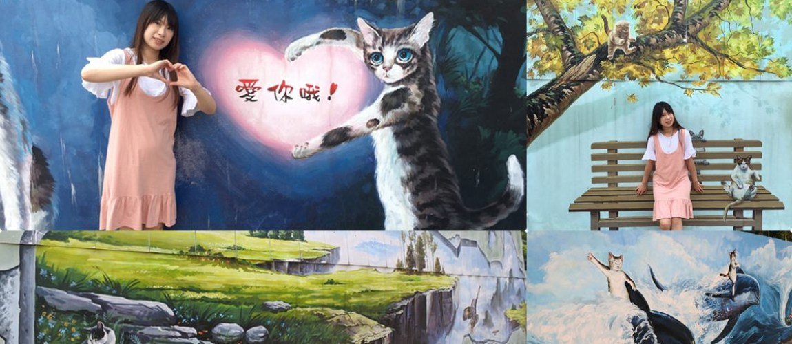 嘉義│菁埔貓咪彩繪村