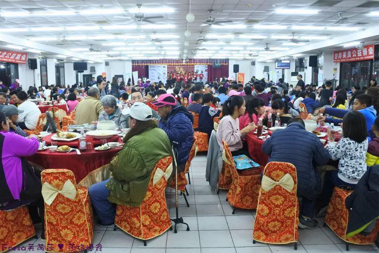 2019年第二屆【台南美食公益辦桌】邀你一起做公益吃美食.滿場歡樂聲熱鬧非凡